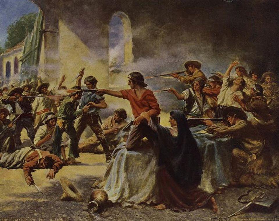 Wilder Westen: Unter großen Verlusten überwinden die mexikanischen Truppen die Mauern Alamos und drängen die Verteidiger in die Kapelle zurück