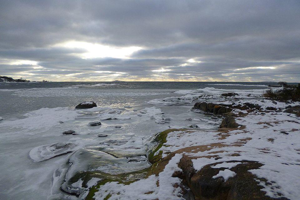 Der Aland-Archipel beginnt im Februar endlich zuzufrieren