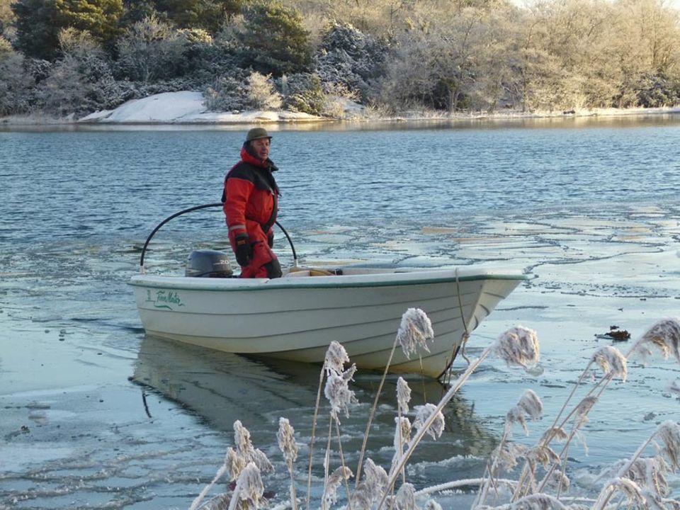 Kai Lundberg ist Fischer, Jäger und Holzfäller auf Jurmo, der nordöstlichsten Insel Alands.