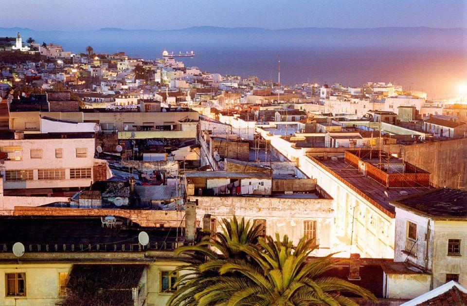 Tanger: Rund eine Millionen Menschen leben inzwischen in Tanger, auch Tangier genannt