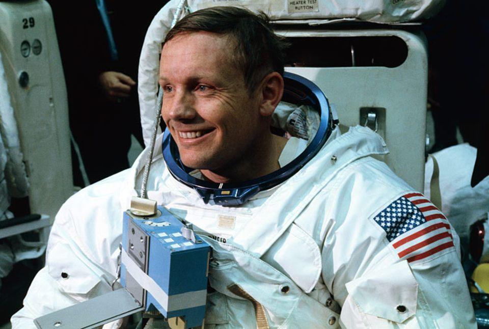 Weltveränderer: Der 21. Juli 1969 ging in die Geschichte ein. An diesem Tag betrat Neil Armstrong als erster Mensch den Mond