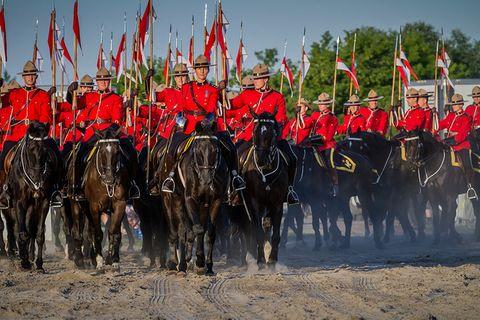 Königliche Mounties – Kanadas berittene Polizei