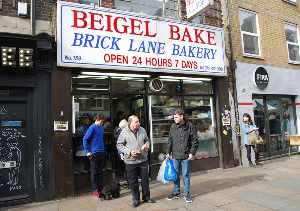 Reisetipps London: Beliebt bei jung und alt: Beigel Bake - Londons ältester Bagel-Shop