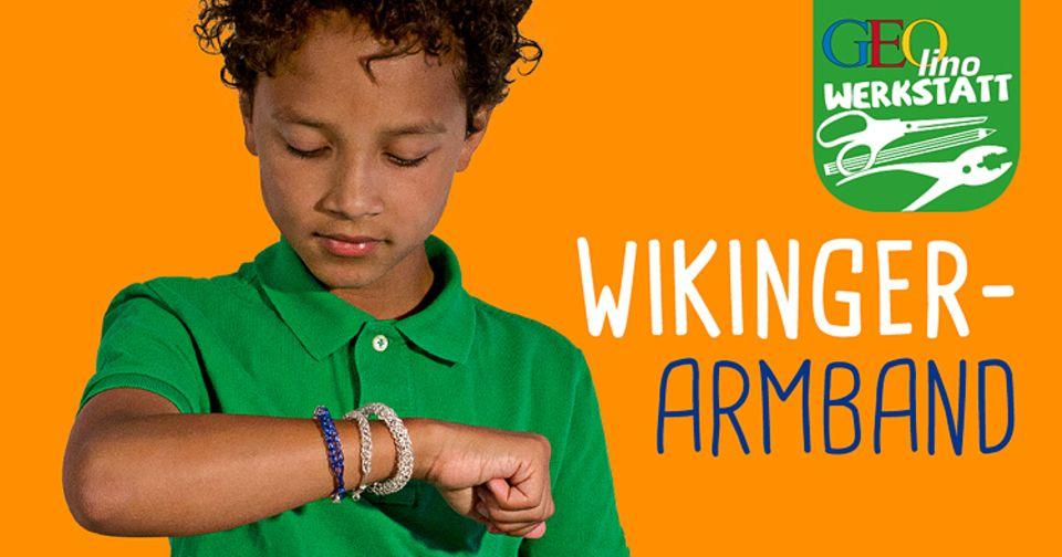 Bastelanleitung: Bei den Wikingern trugen auch die Männer sehr gern Armbänder