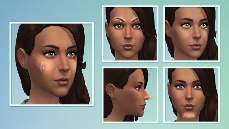 Spieletest: Die Sims 4 punktet mit dem Tool zum Sim erstellen