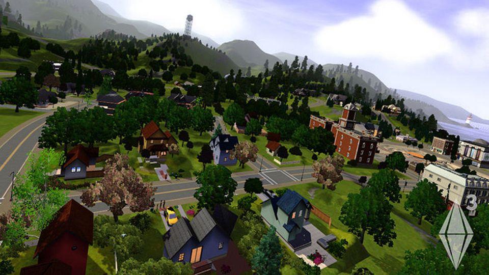 Spieletest: In Die Sims 3 war die Welt noch offen gestaltet