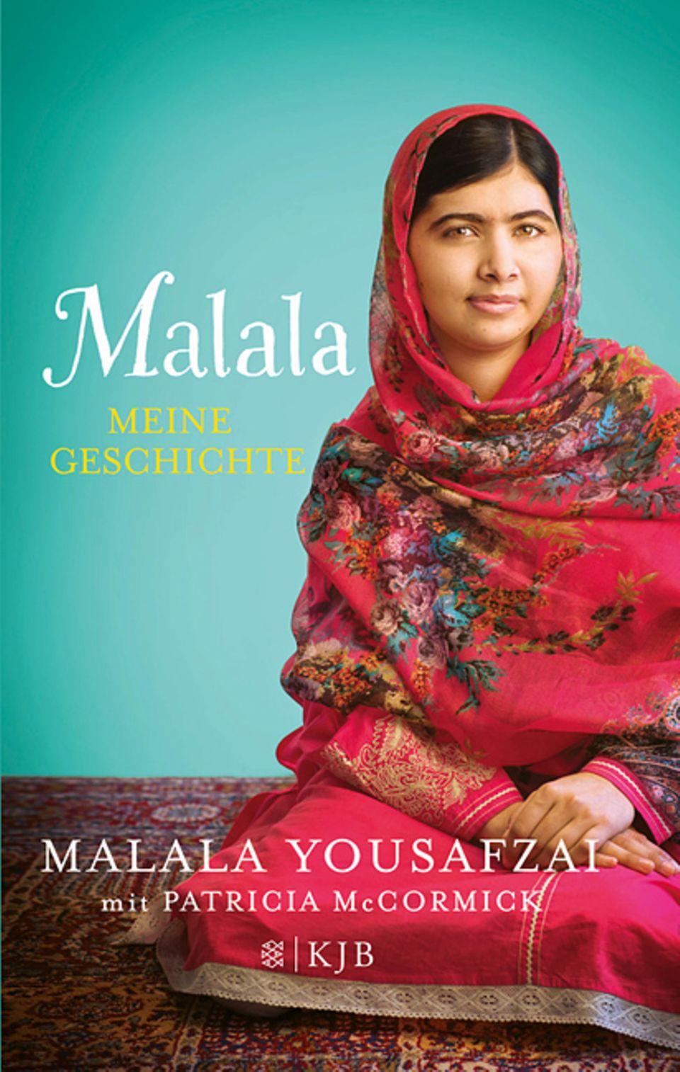 """Buchtipp: """"Malala - Meine Geschichte"""" ist im S. Fischer Verlag erschienen, 270 Seiten, 12,99 Euro"""