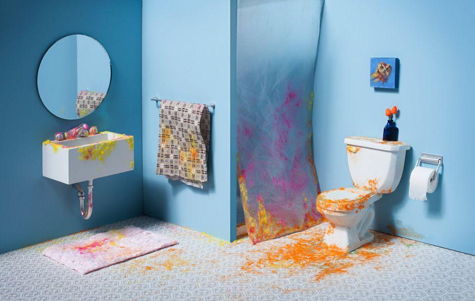Bakterien: Kein stilles Örtchen: Rund um unsere Toilette wimmelt es von Mikroorganismen