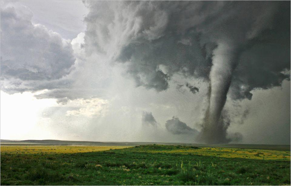 Klima: Ein Tornado kommt heute seltener allein