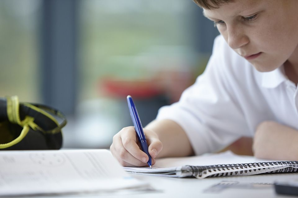 Familien über Erziehung: Symbolbild: Fabian (14) ist Legastheniker