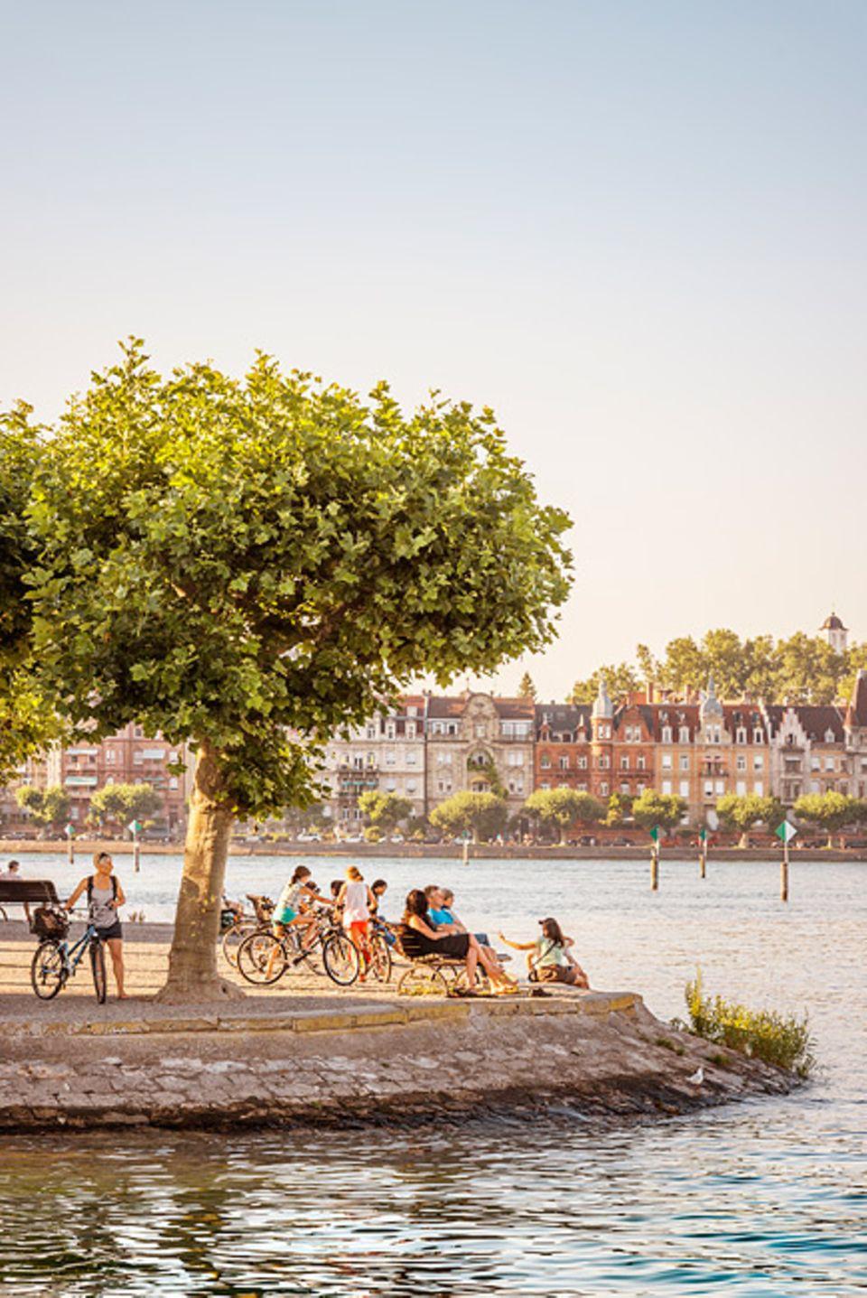 REISEZIEL: Konstanz hat Idyllen zuhauf, wie den Stadtgarten, der direkt am See endet