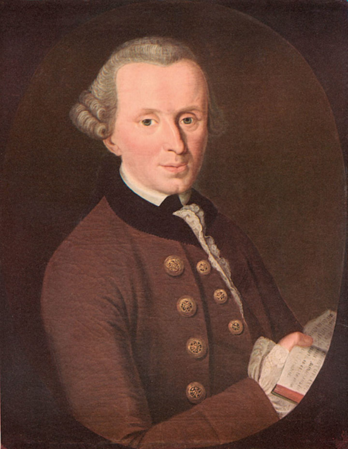 Weltveränderer: Immanuel Kant ist der Begründer der Aufklärung, einem philosophischen Zeitalter