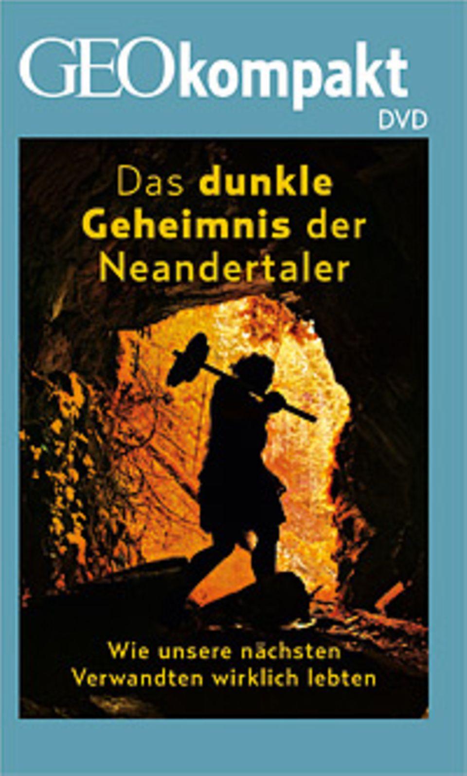 """Neandertaler: GEOkompakt Nr. 41 """"Der Neandertaler"""" ist auch mit DVD erhältlich"""