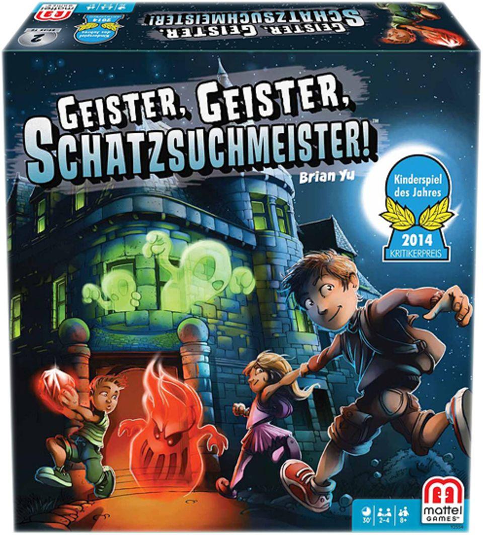 Spieletests: Spieltipp: Geister, Geister, Schatzsuchmeister