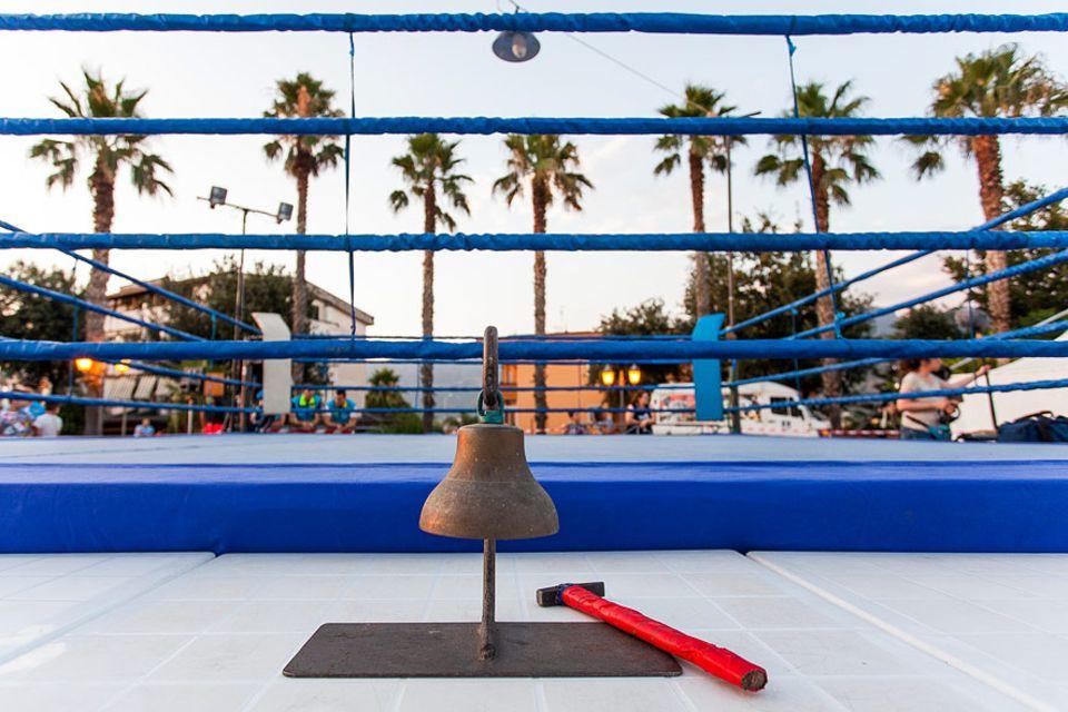 Boxen gehört in und um Neapel zu den beliebtesten Sportarten