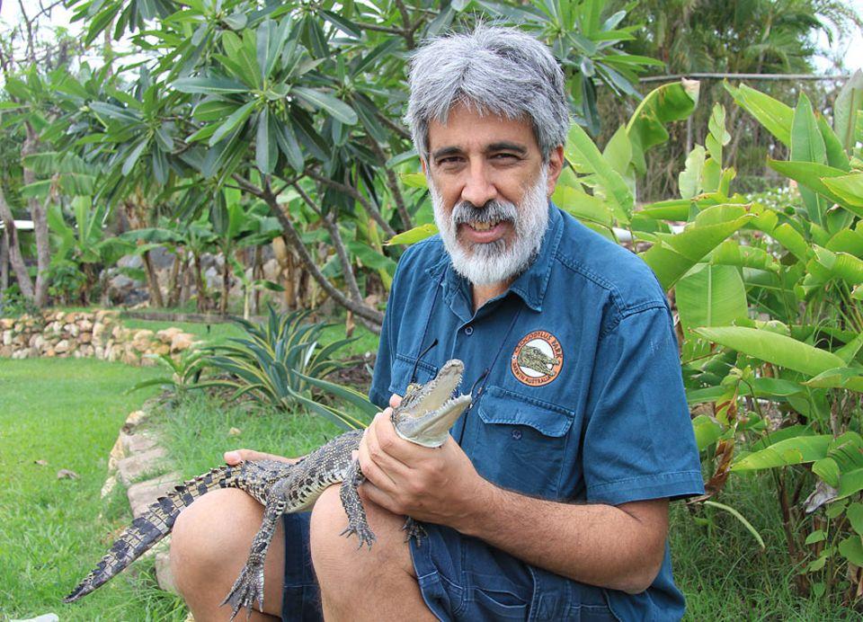 Northern Territory: Charlie Manolis ist Chef des Crocodylus Parks und weiß um die Gefahr, die von seinen Schützlingen ausgeht
