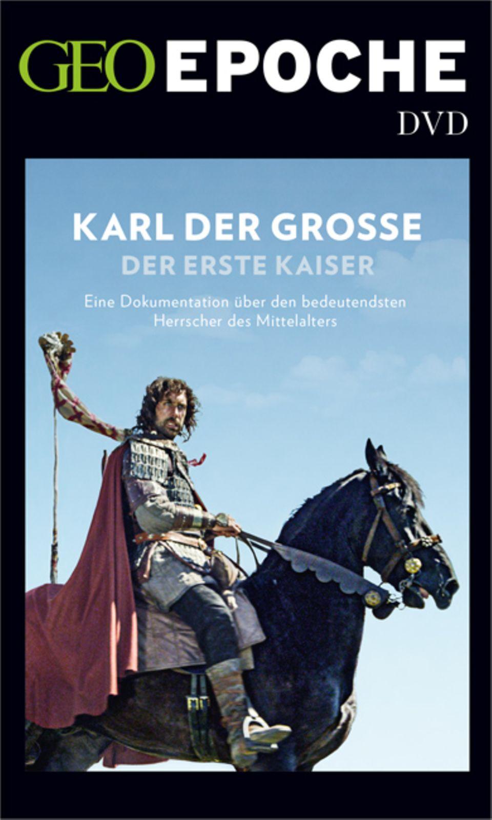 Karl der Große: Die DVD zum Heft: Eine Dokumentation über den bedeutendsten Herrscher des Mittelalters