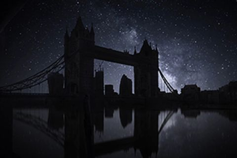 Timelapse der Milchstraße: So wundervoll sähe London ohne Strom aus