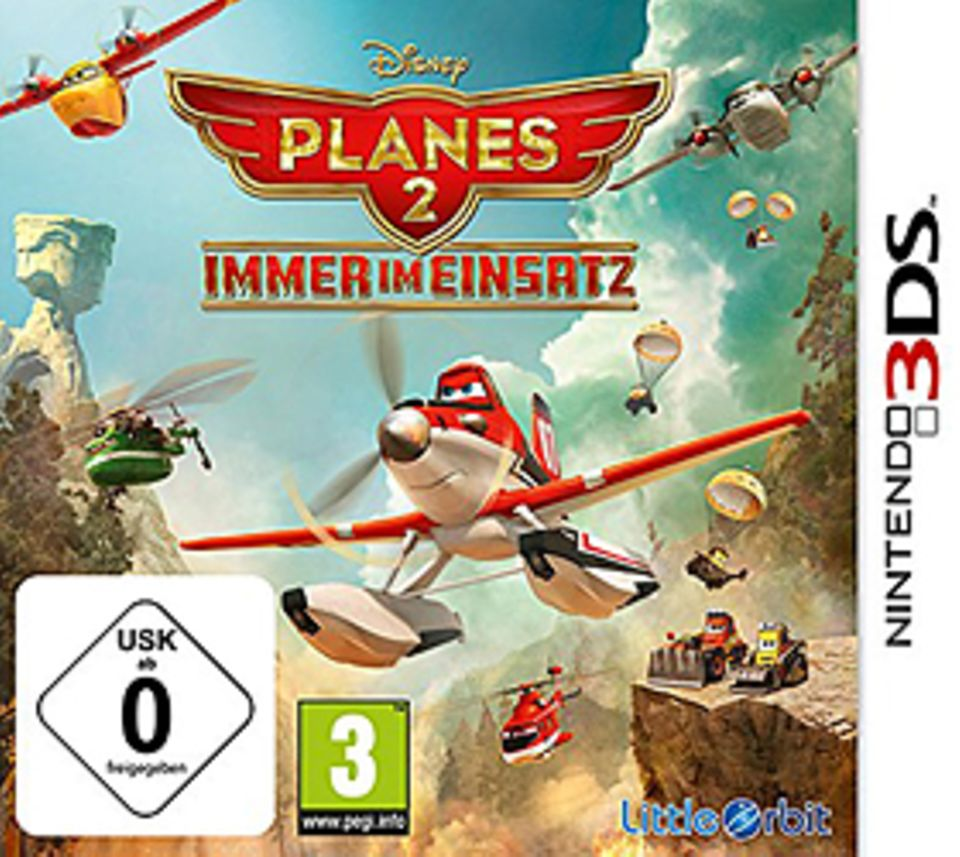 Spieletest: Spiel-Cover Planes 2