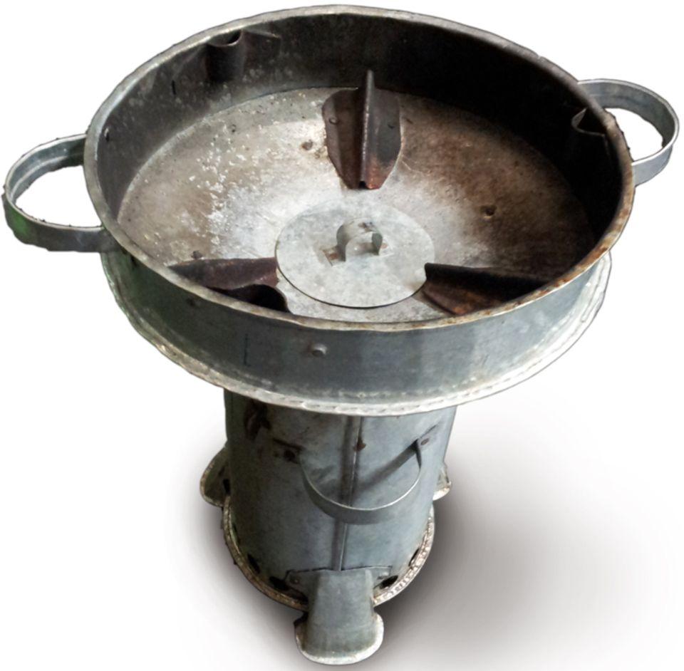 Äthiopien: Dieser Pyrolysekocher aus Haiti ist das Ausgangsmodell für den Kaffa-Kocher