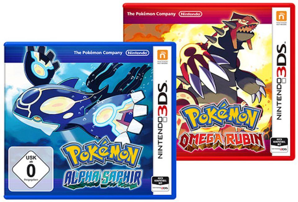 Nintendo 3DS: Gewinnt eines der beiden neuen Pokémon-Spiele