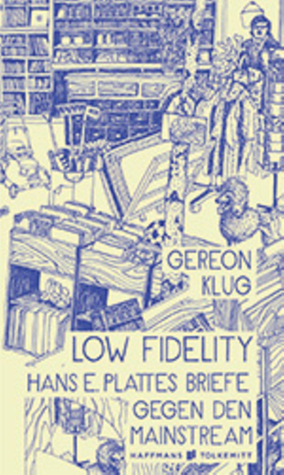 Das Lesestück: Gereon Klug: LOW FIDELITY. 240 Seiten, 19,95 €, erschienen im Haffmans & Tolkemitt Verlag