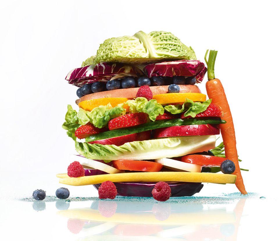 Sport: Freizeitsportler haben keinen Mehrbedarf an Nährstoffen, etwa an Proteinen, sagt Christine Graf. Eine ausgewogene Mischkost mit Obst und Gemüse reicht völlig aus