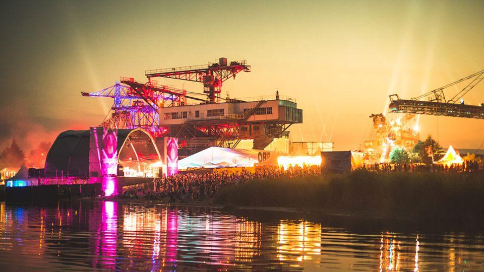 Europa: Das Melt! Festival lebt nicht nur von seinem hochkarätigen Line-up, sondern auch von seiner Kulisse
