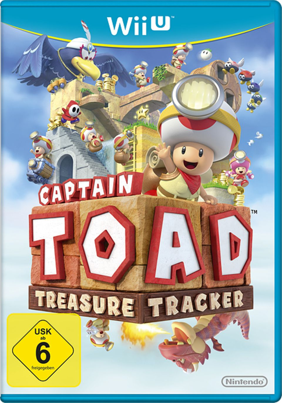 Spieletest: Spiel-Cover Captain Toad