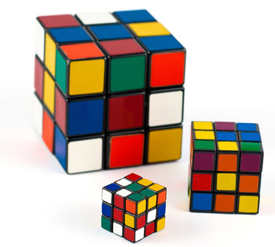 Gib mir fünf: Zauberwürfel heißen auf Englisch Rubik's cube