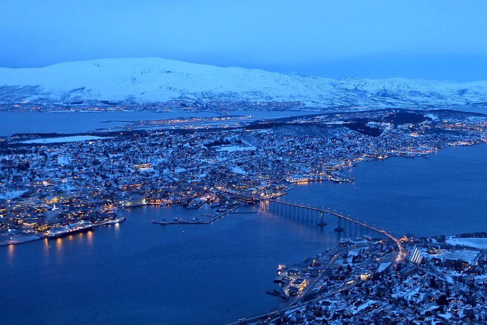 Polarlichter: Schöner warten in Tromsö