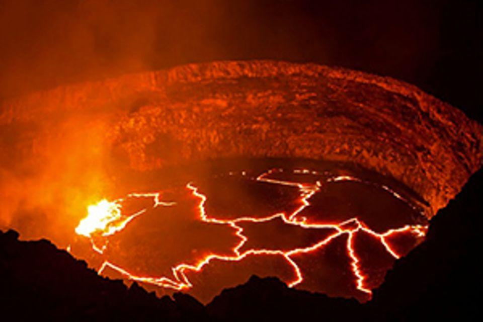 Kilauea Vulkan: Video: Die schaurig-schöne Kraft der Lava