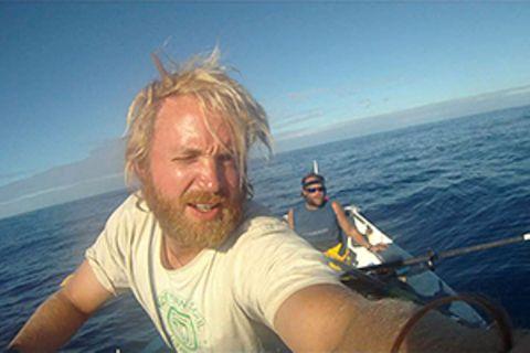And then we swam: Per Ruderboot über den Indischen Ozean