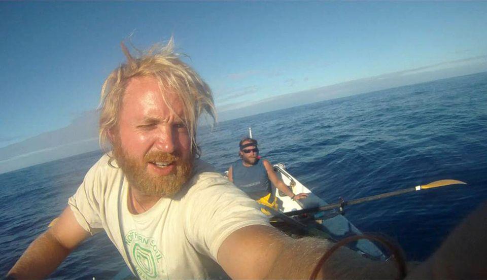 And then we swam: 116 Tage ruderten James (vorn) und Ben von Australien nach Mauritius