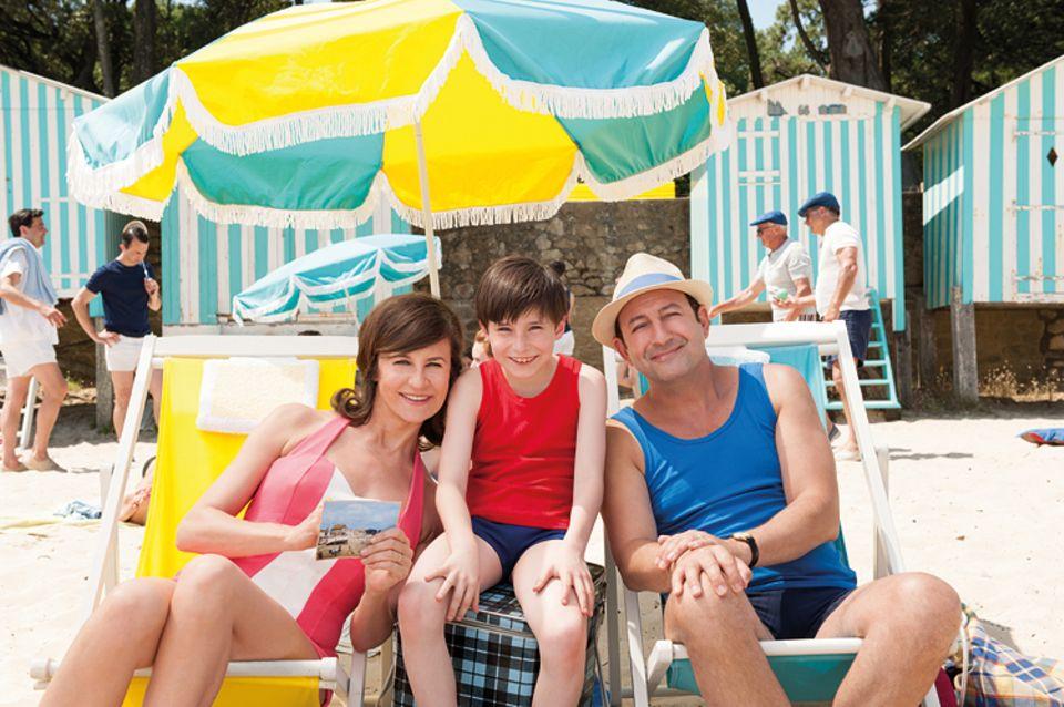 Kino: Der kleine Nick macht mit seiner Mutter und seinem Vater Strandurlaub