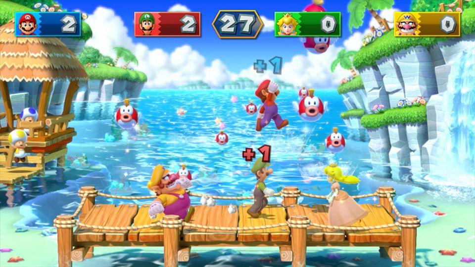 Konsolenspiel: Mario und seine Freunde treten in Mario Party 10 gegeneinander an