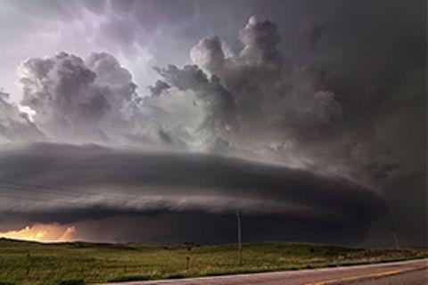 Sturm-Video: Da braut sich was zusammen