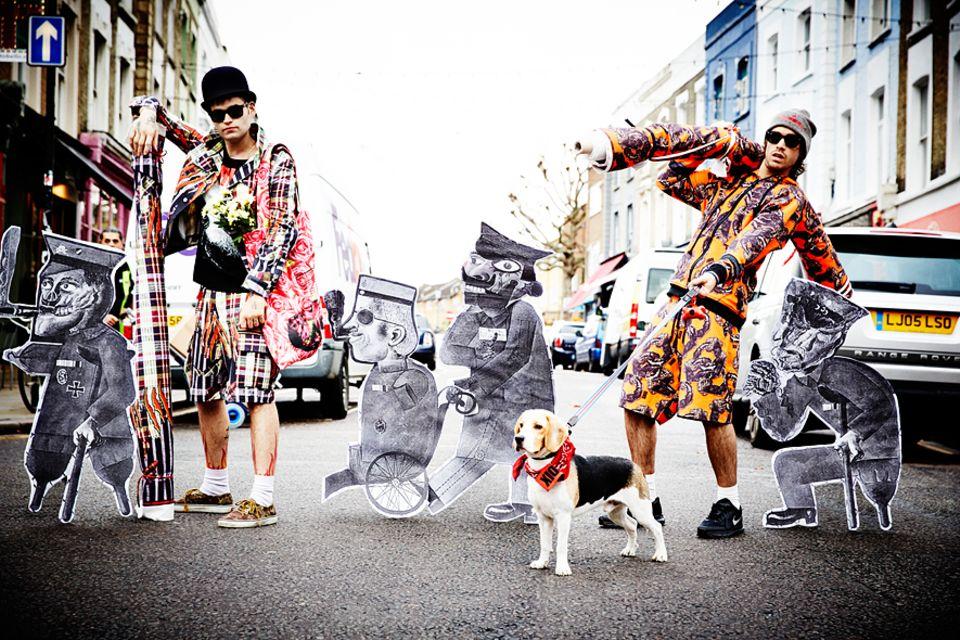 London: Luca Marchetto und Jordan Bowen sind Modedesigner
