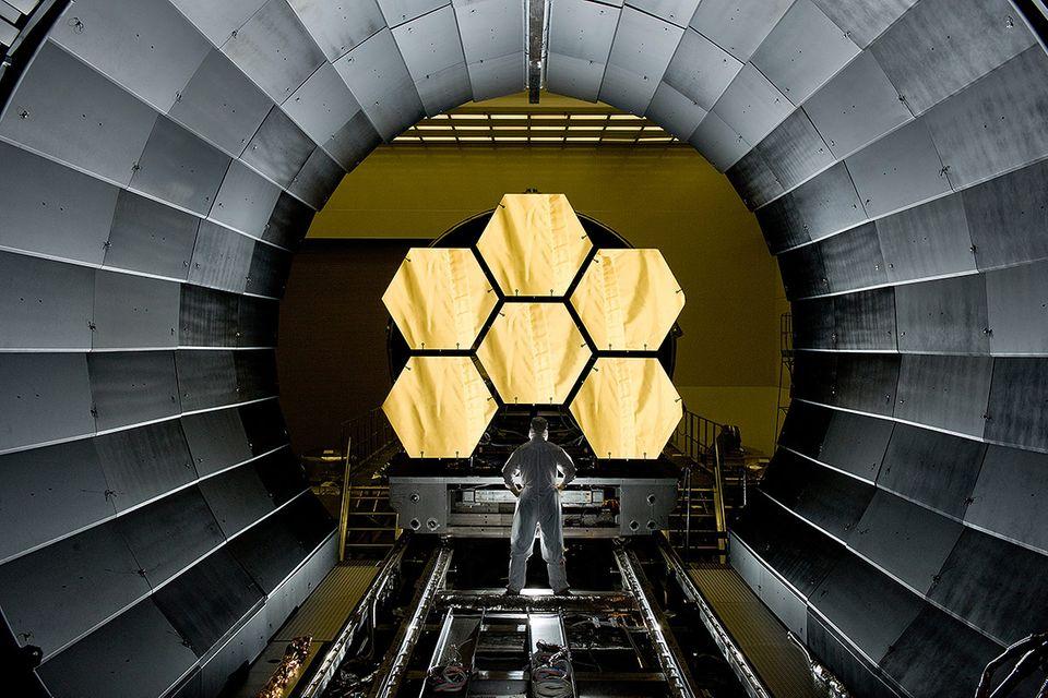 James-Webb-Teleskop: Das teuerste Messgerät der Welt: Was es soll, was es kann