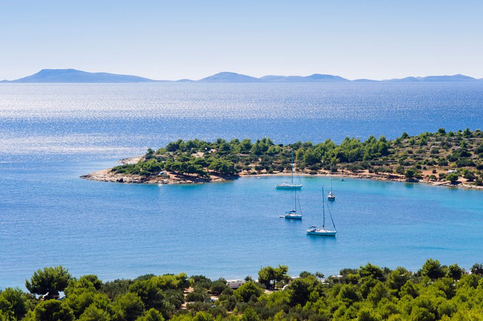 Kroatien: Ein Seglertraum ist die kleine Insel Murter. Von hier aus starten viele Boote ihren Törn durch das Kornaten-Archipel