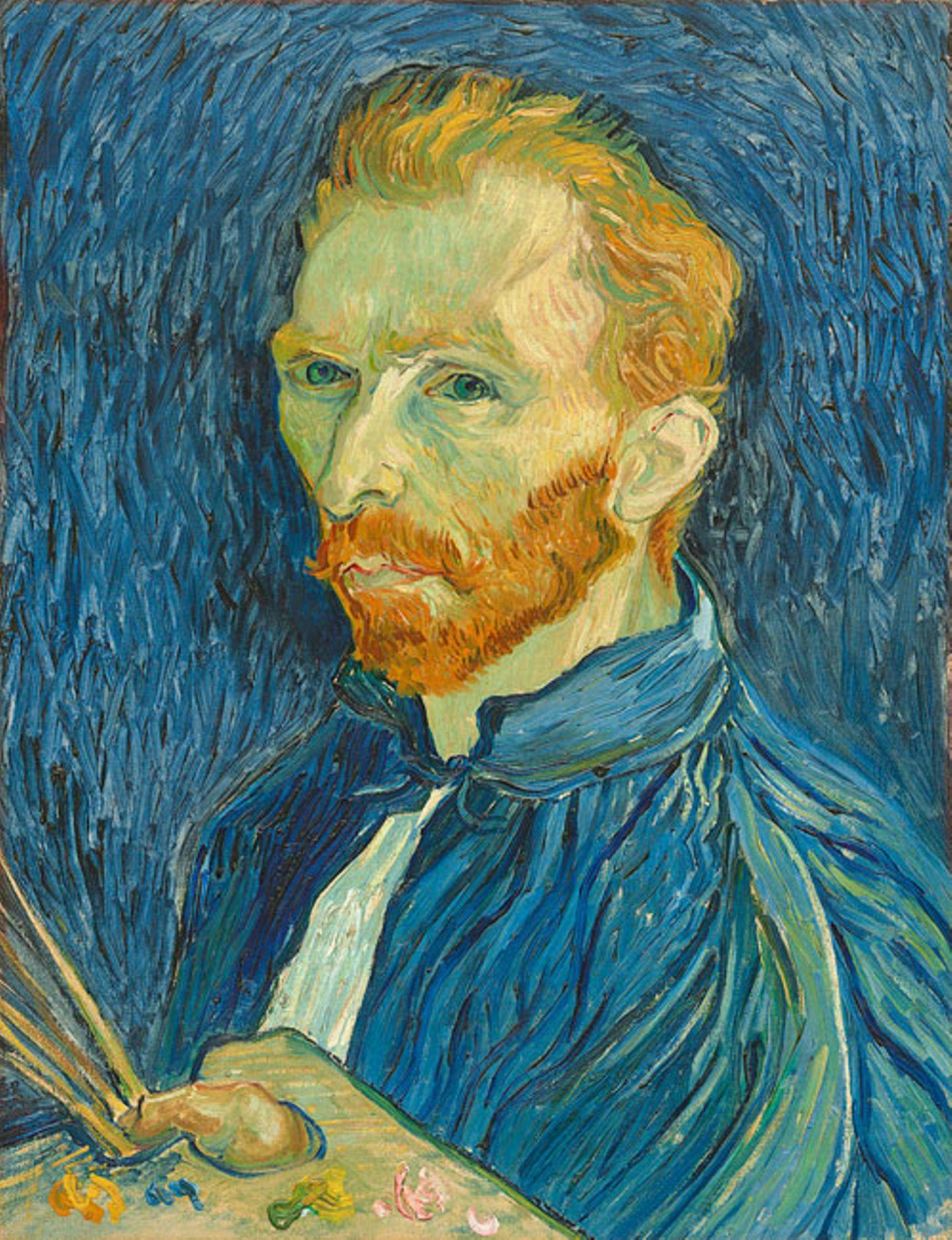 Weltveränderer: Selbstporträt: Vincent van Gogh führte ein turbulentes Leben und lebte in vielen verschiedenen Städten
