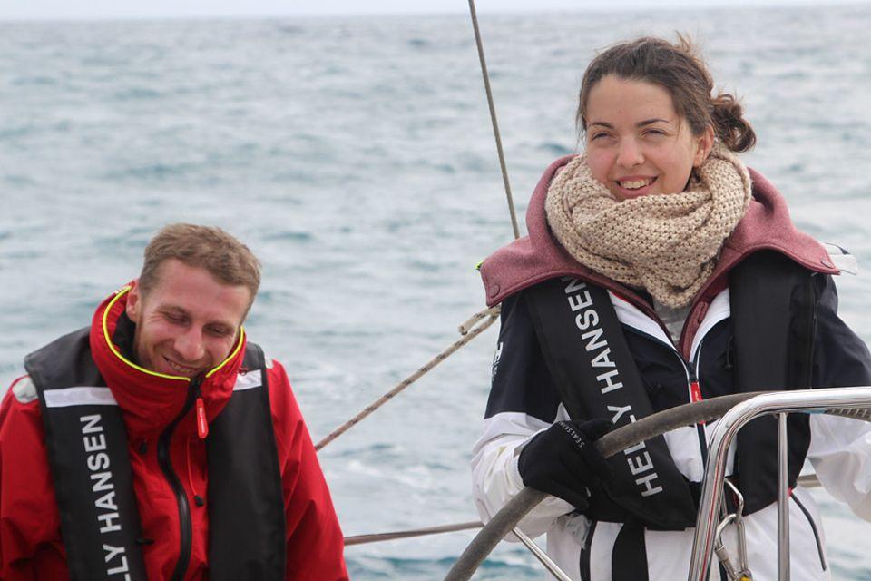 Segelrebellen: Hauke und seine Freundin Anna haben sich in der Reha kennengelernt. Nun tankten sie gemeinsam Kraft auf dem Segeltrip