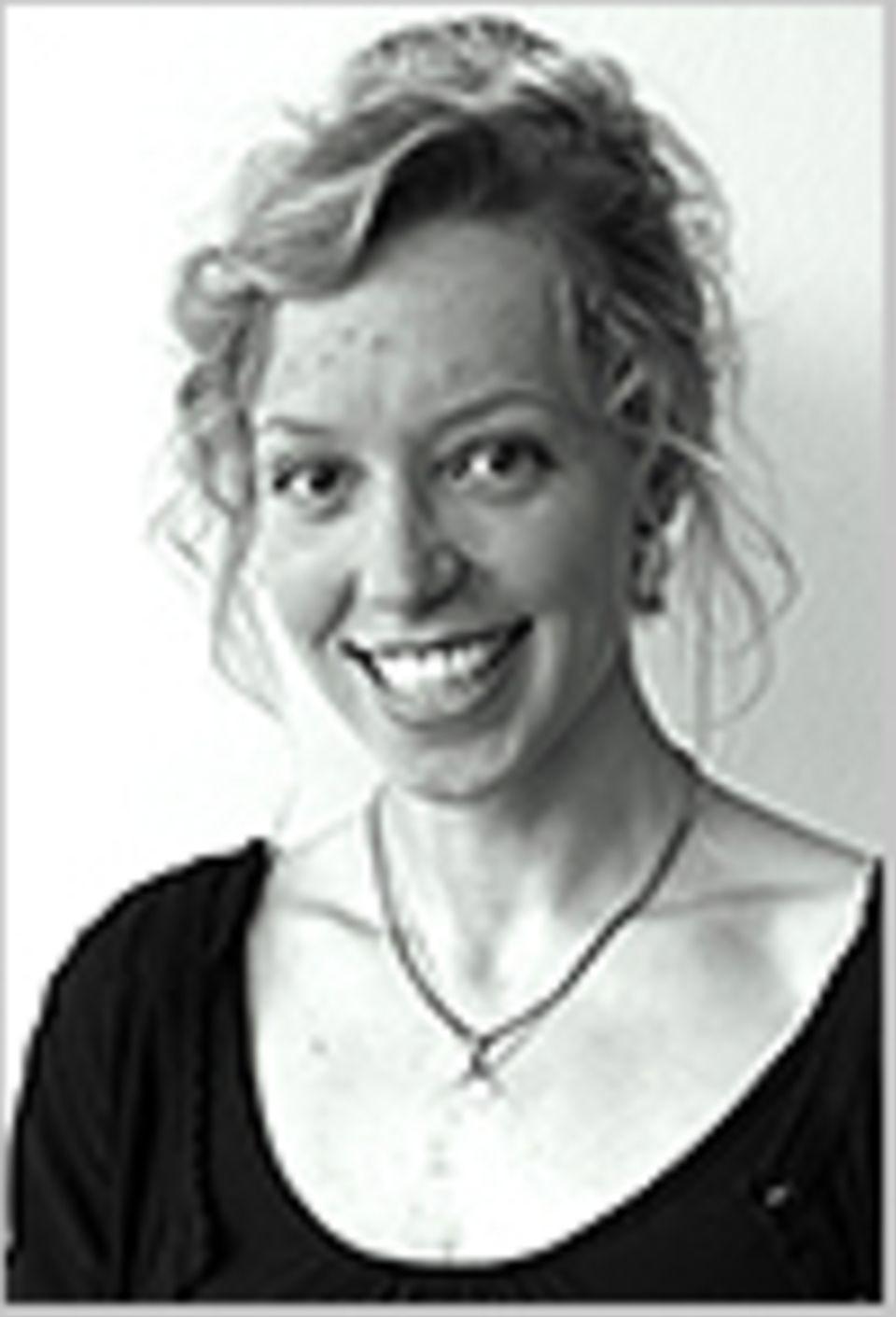 Meeresbiologin gewinnt GEO-Stipendium 2015: Meeresbiologin Sandra Striegel