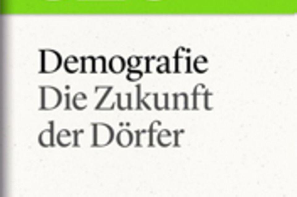 """Die Zukunft der Dörfer: GEO eBook """"Demografie"""""""
