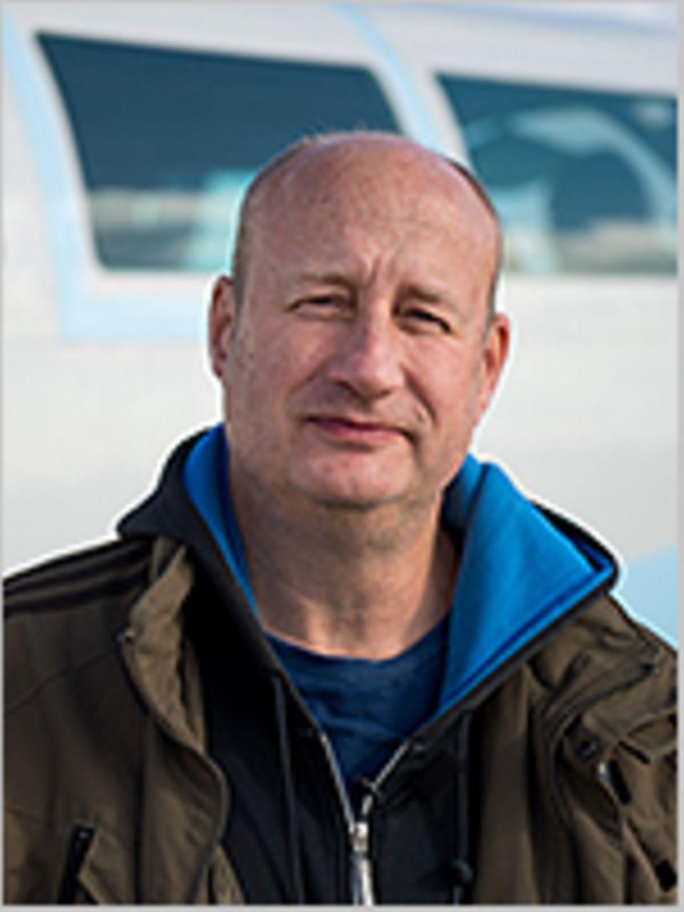 Ölindustrie in der Nordsee: Protestierte vor 20 Jahren an Bord der Brent Spar gegen deren Versenkung: Dr. Christian Bussau, Meeresbiologe und Greenpeace-Öl-Experte