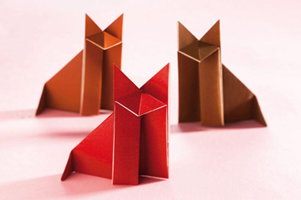 Basteln: Origami Anleitungen