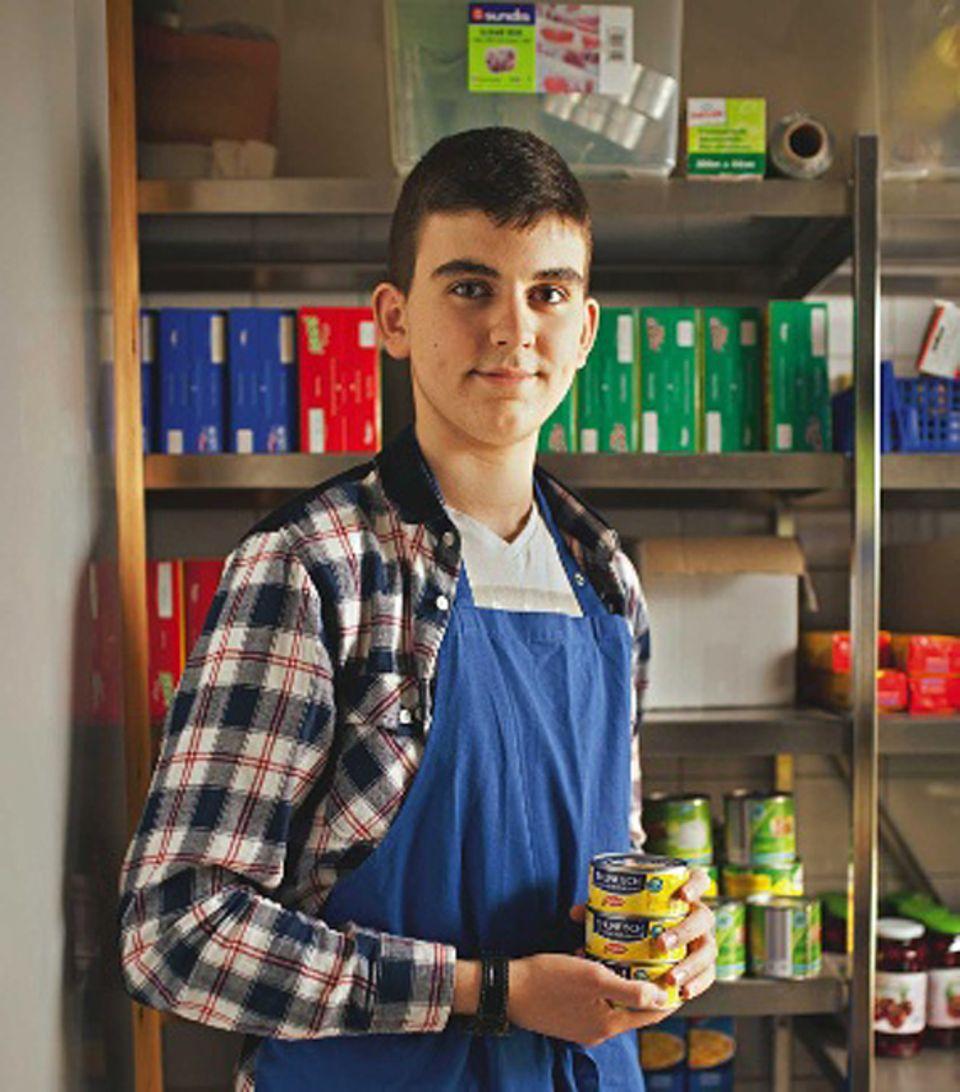 Rezept: Ensar (16) hat das Rezept von seiner Schwester bekommen