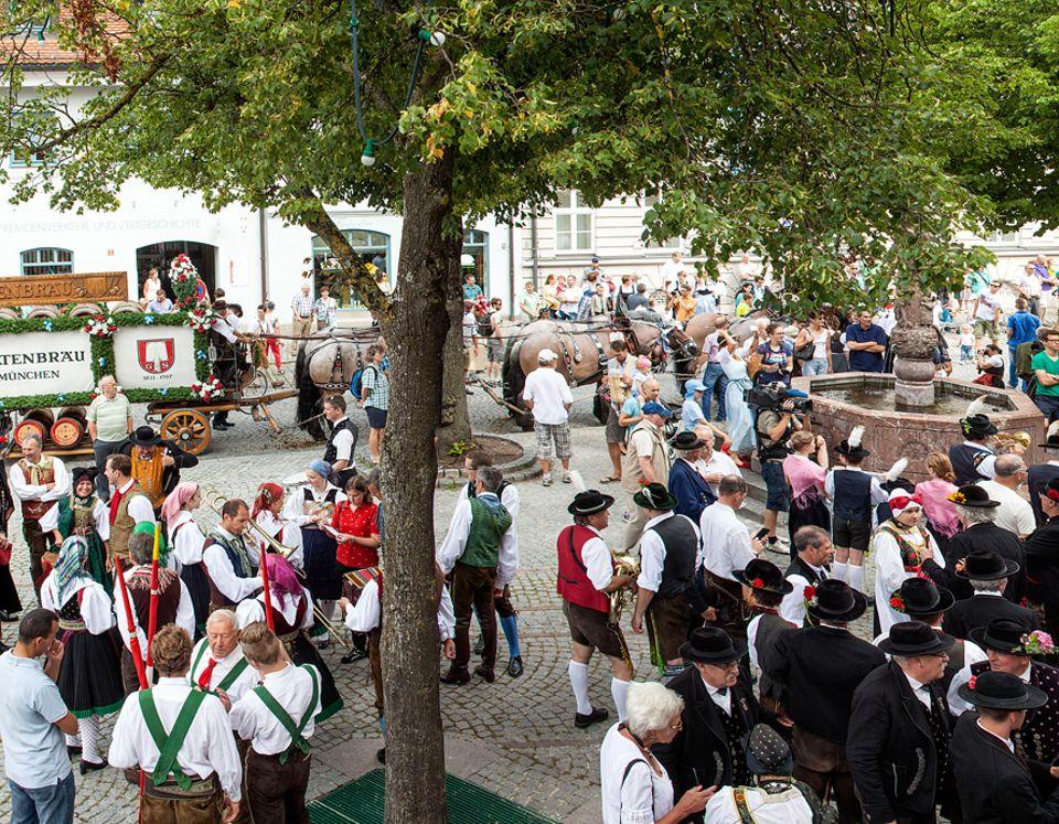 Ausflüge: Alternative zur Münchner Wiesn: Auf dem Dachauer Volksfest geht es vergleichsweise beschaulich zu