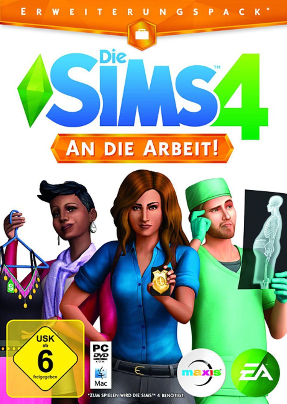 Spieletest: Die Sims 4 - An die Arbeit