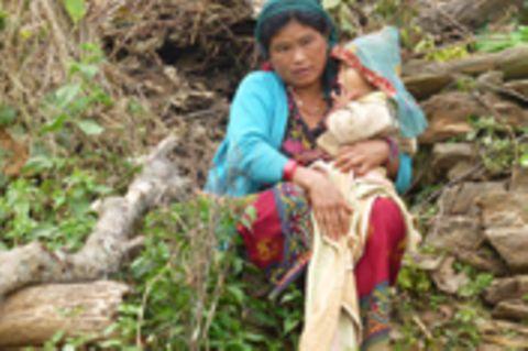 Nepal: Bilder aus den Erdbebenregionen